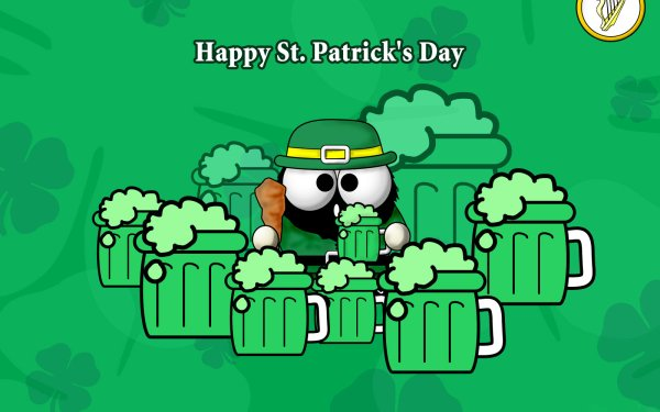 Holiday St. Patrick's Day Leprechaun Beer HD Wallpaper | Background Image