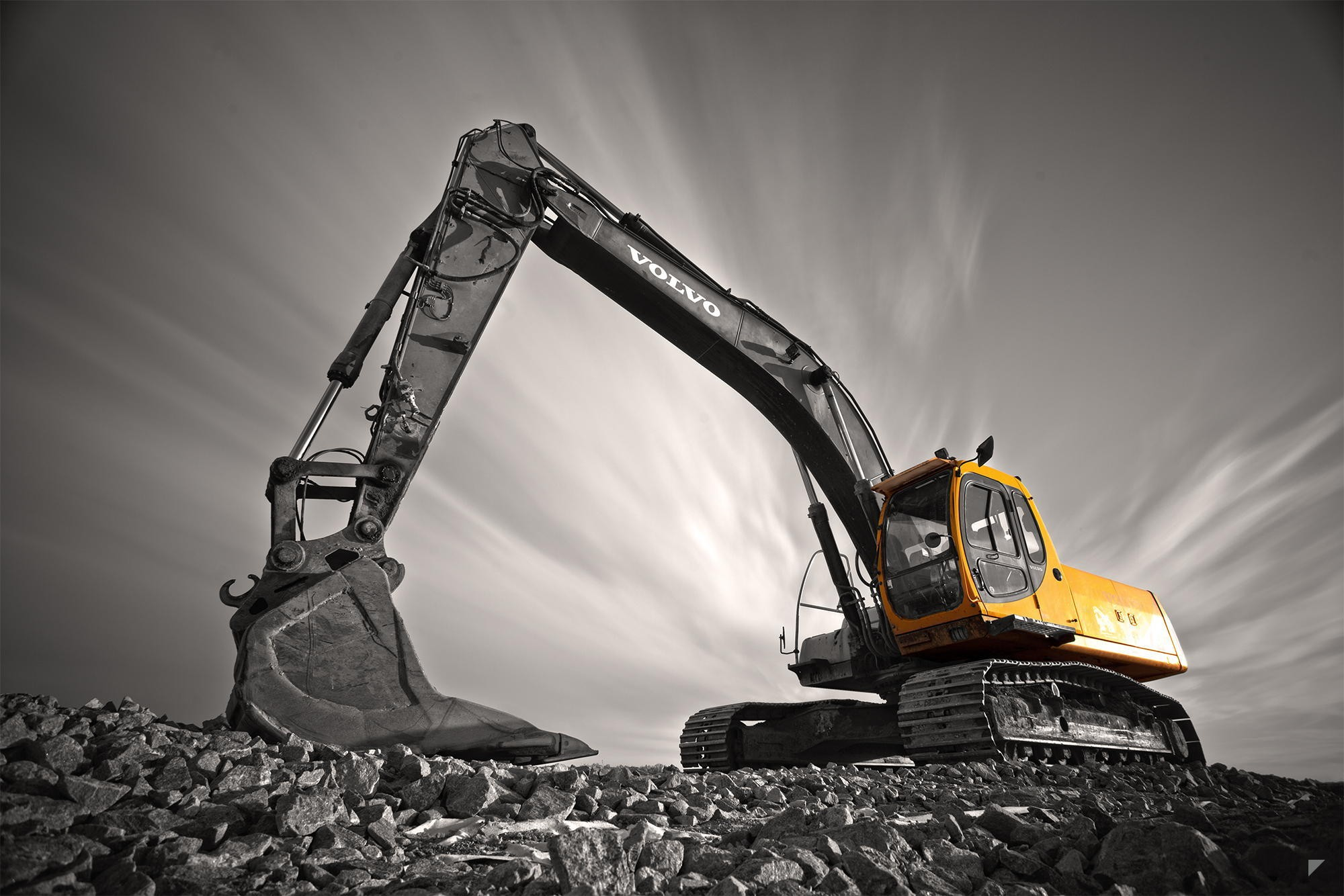 8 excavator hd wallpapers backgrounds wallpaper abyss - Mining images hd ...