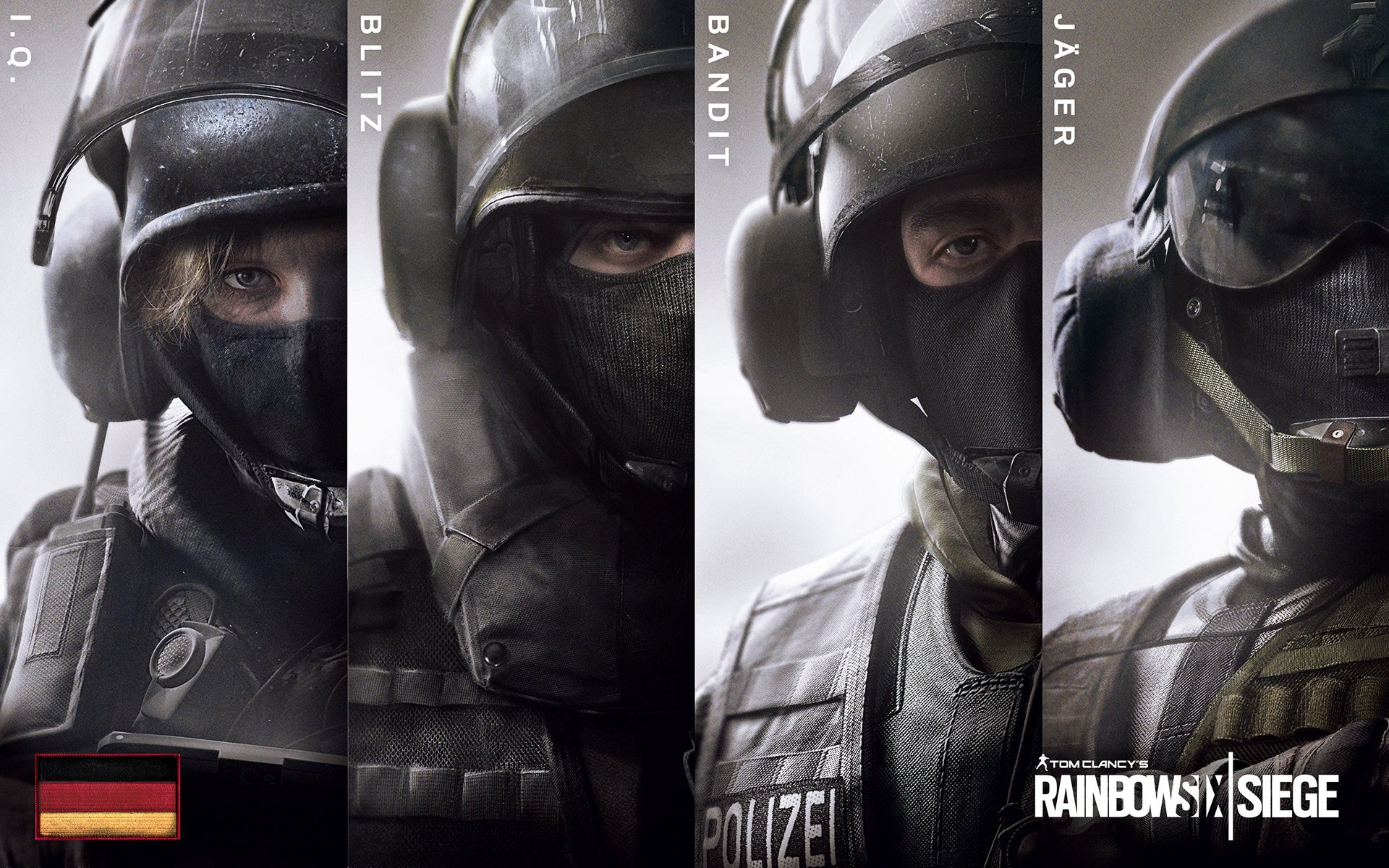 Rainbow Six Siege German Hd Wallpaper Background Image