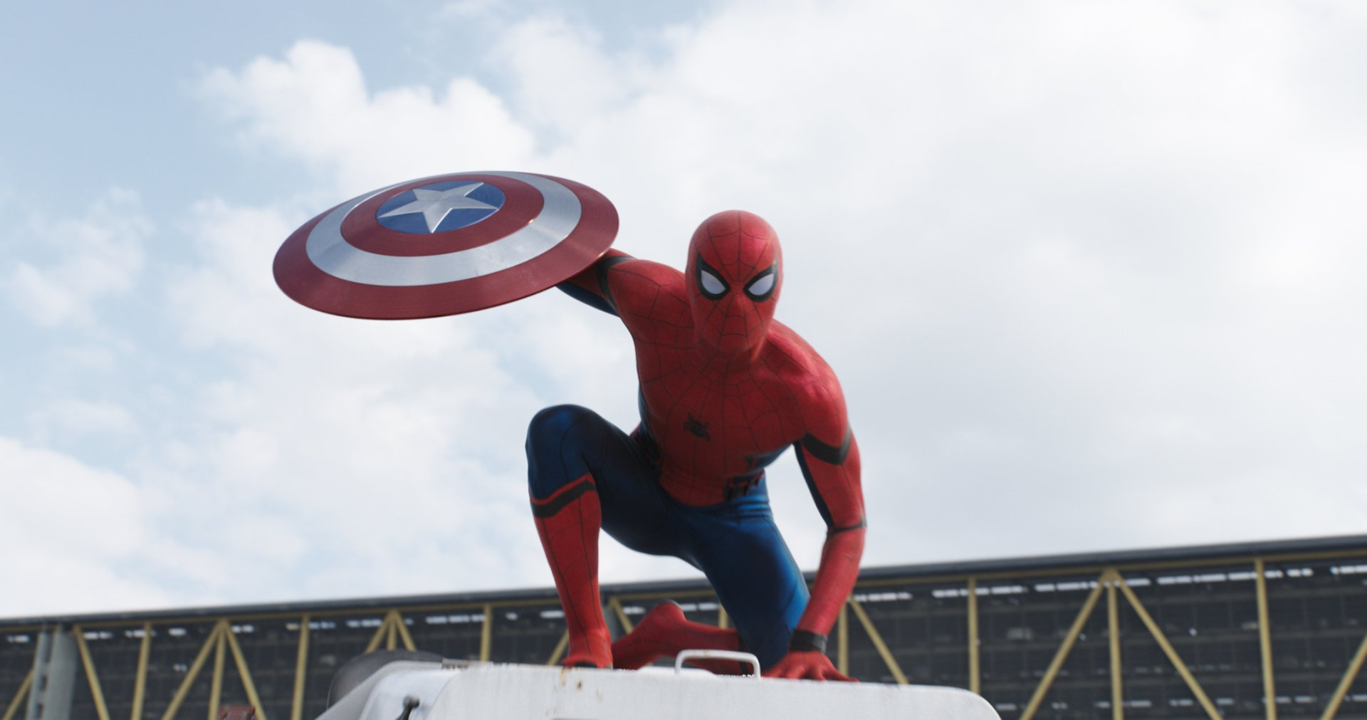 Films - Captain America: Civil War  Spider-Man Marvel Comics Films Fond d'écran
