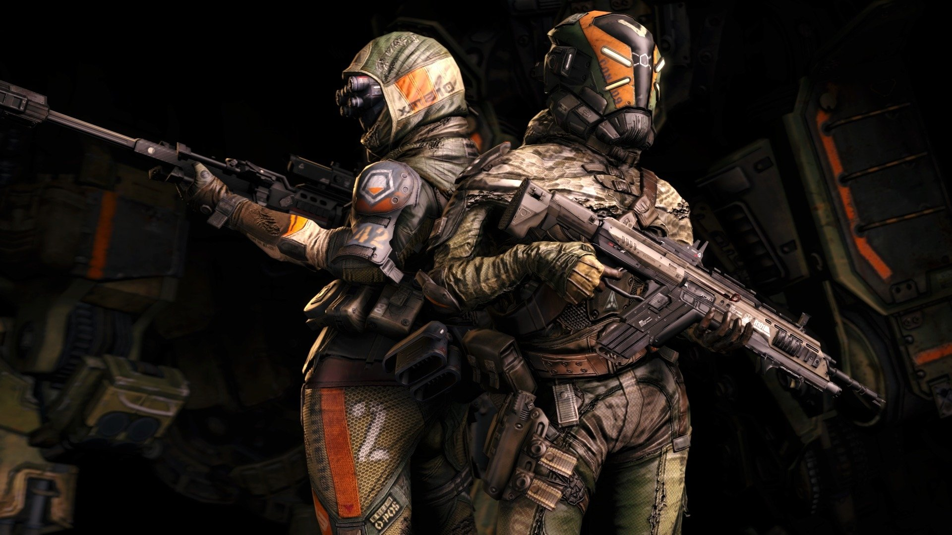 Video Game - Titanfall  Sniper Rifle Gun Weapon Warrior Sci Fi Wallpaper