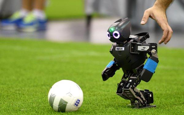 Technology Robot Soccer Ball HD Wallpaper | Background Image