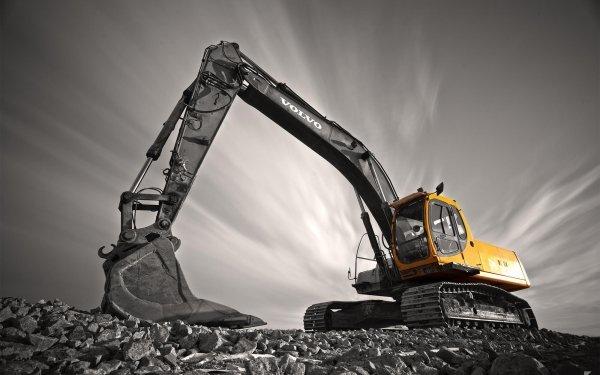Vehicles Excavator Volvo HD Wallpaper   Background Image