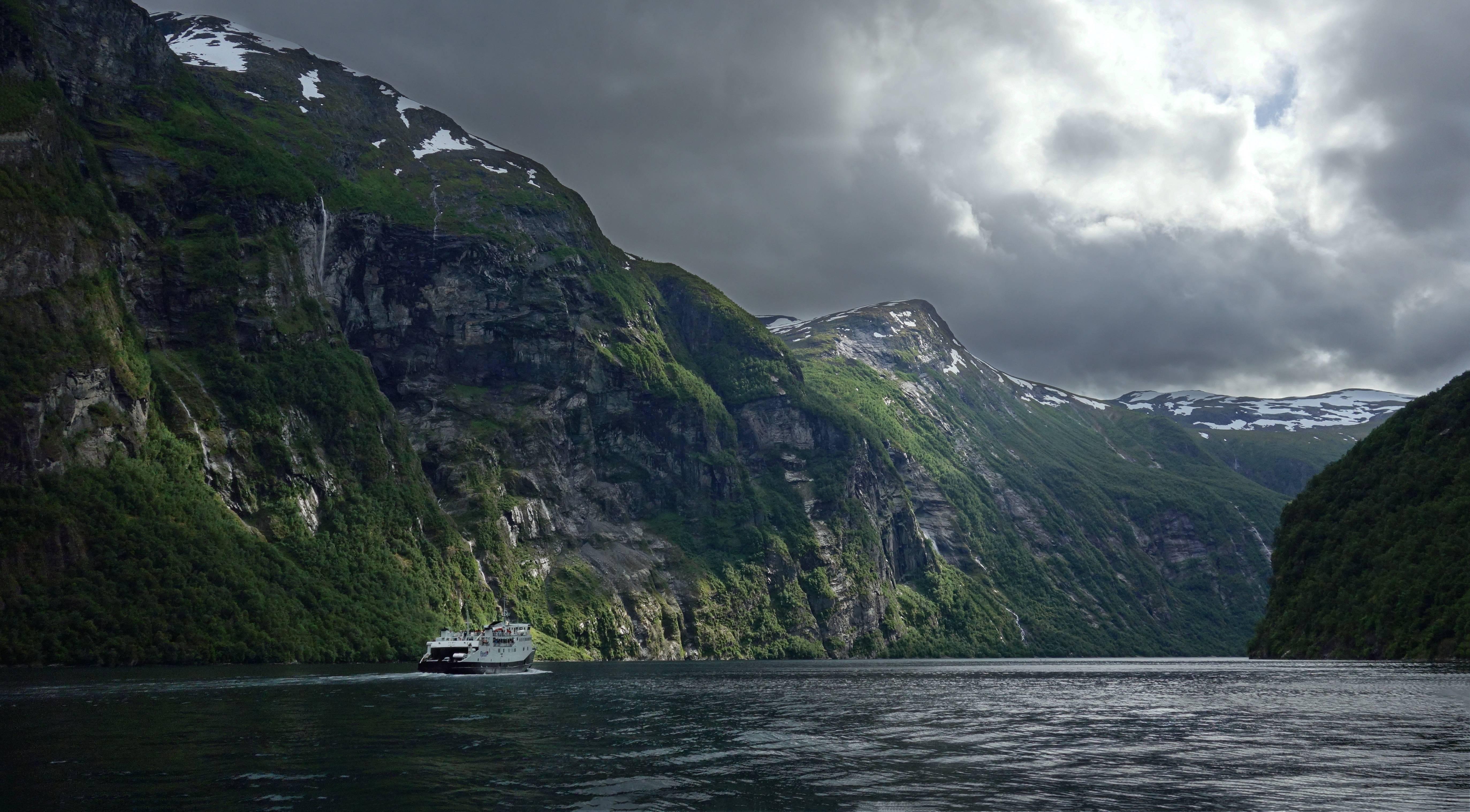 Geiranger Fjord Norway 5k Retina Ultra Fondo De Pantalla Hd