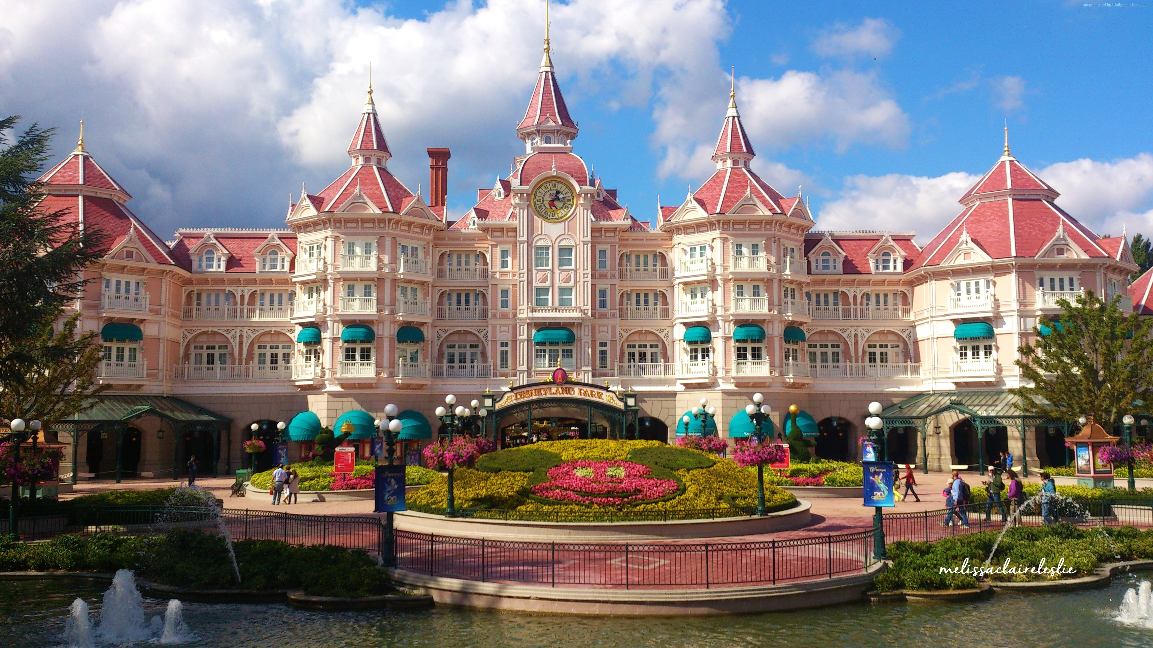 Disneyland hotel in paris france 4k ultra hd wallpaper for Hotel original france