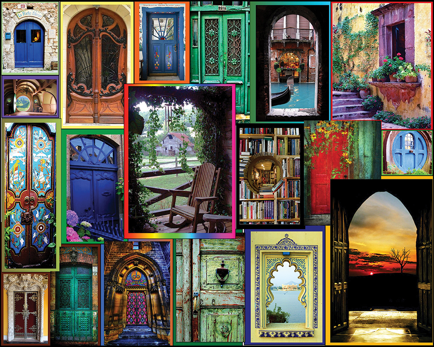 door collage wallpaper and background image 1440x1152 id 687967