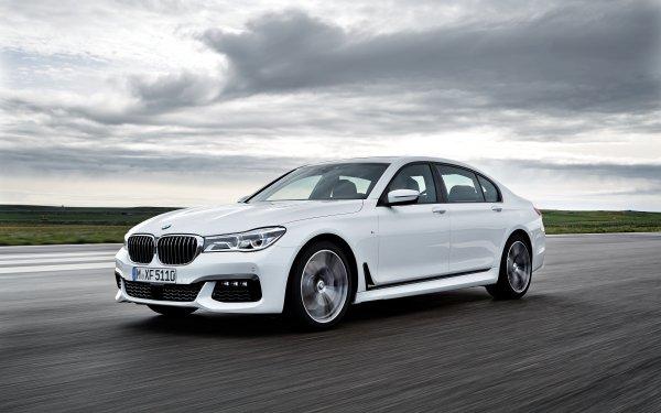 Véhicules BMW 7 Series BMW Luxury Car Voiture White Car Fond d'écran HD | Image