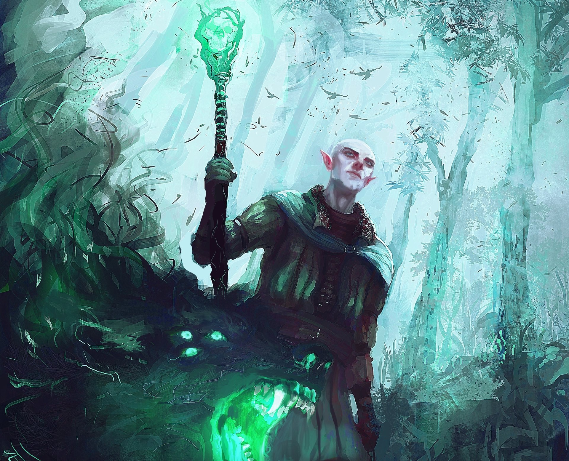 1 Solas Dragon Age Hd Wallpapers Background Images Wallpaper