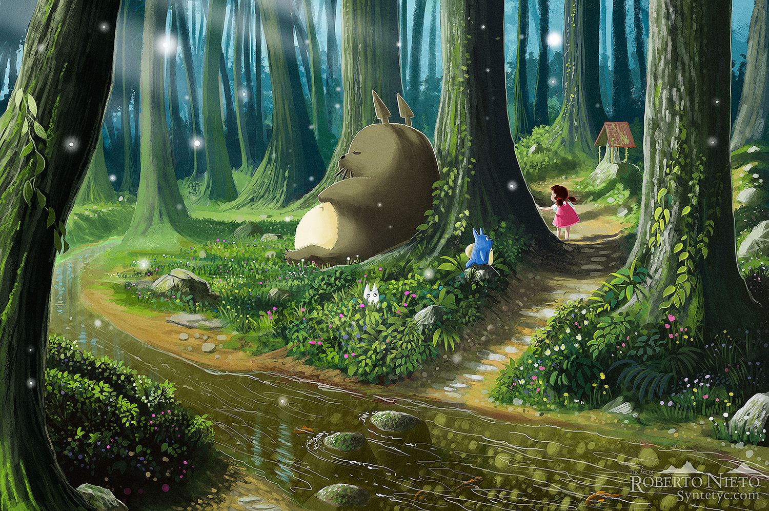 Simple Wallpaper Forest Totoro - 690856  Perfect Image Reference_219419 .jpg