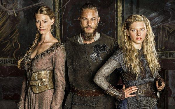 TV Show Vikings Katheryn Winnick Lagertha Alyssa Sutherland HD Wallpaper | Background Image