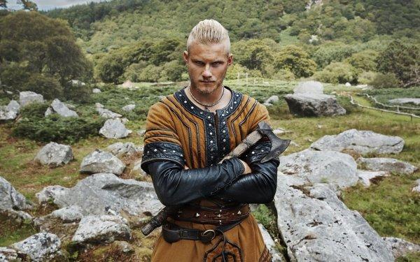 TV Show Vikings Alexander Ludwig Bjorn Lothbrok HD Wallpaper | Background Image