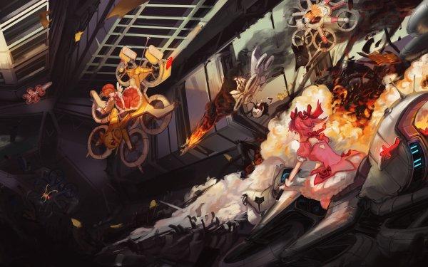 Anime Crossover Madoka Kaname Puella Magi Madoka Magica Homura Akemi Ayumu Aikawa Kore wa Zombie Desu ka Charlotte Sakura Kinomoto Cardcaptor Sakura Minako Aino Sailor Moon Sayaka Miki Usagi Tsukino HD Wallpaper | Background Image