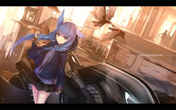 Anime Pixiv Fantasia Fallen Kings Girl HD Wallpaper | Background Image