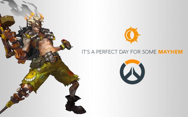 Videojuego Overwatch Blizzard Entertainment Junkrat Jamison Fawkes Fondo de pantalla HD | Fondo de Escritorio