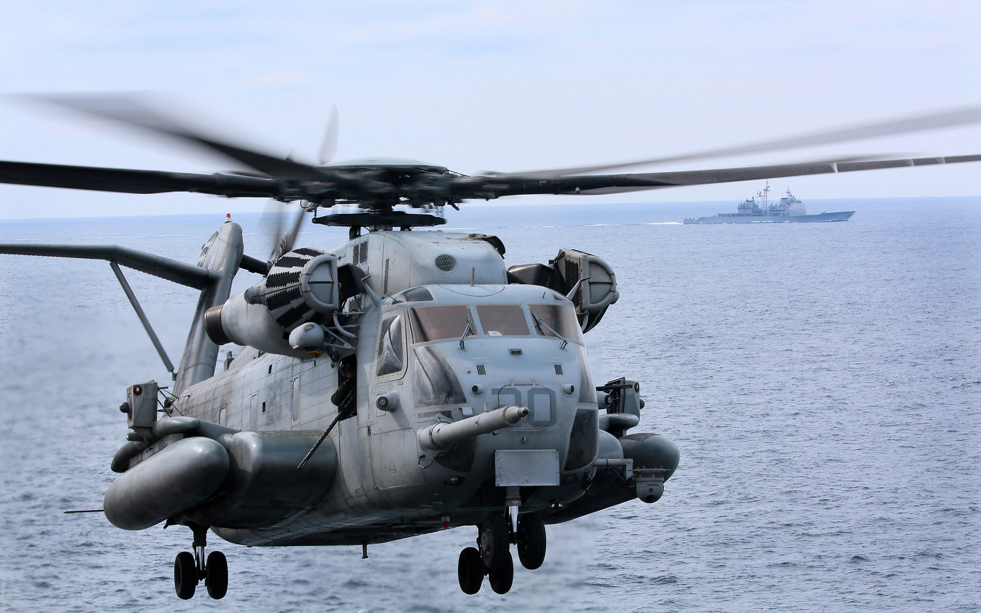 Sikorsky CH-53 Sea Stallion HD Wallpaper