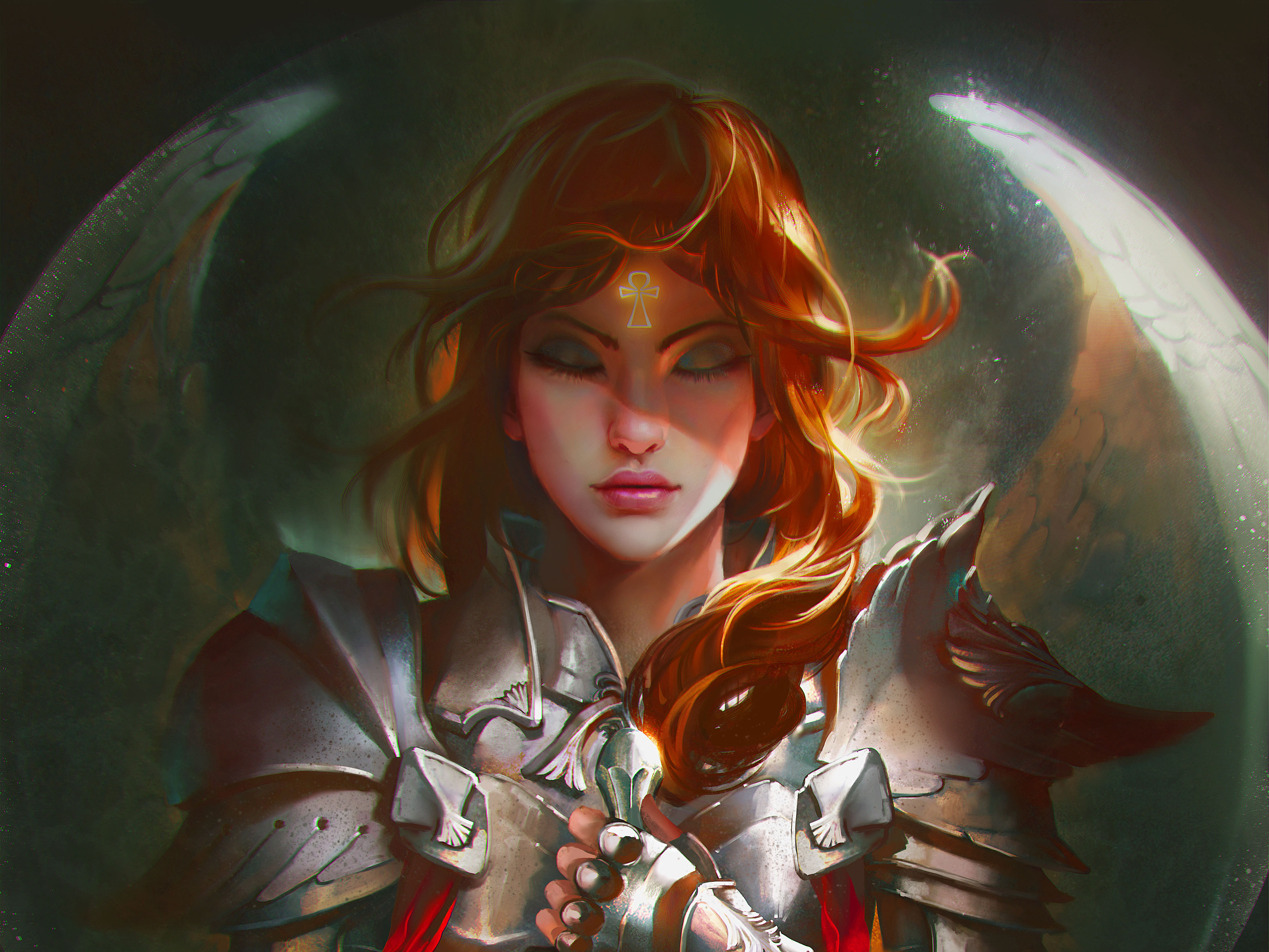 Fantasy - Women Warrior  Fantasy Woman Warrior Warrior Gir  l Armor Wallpaper