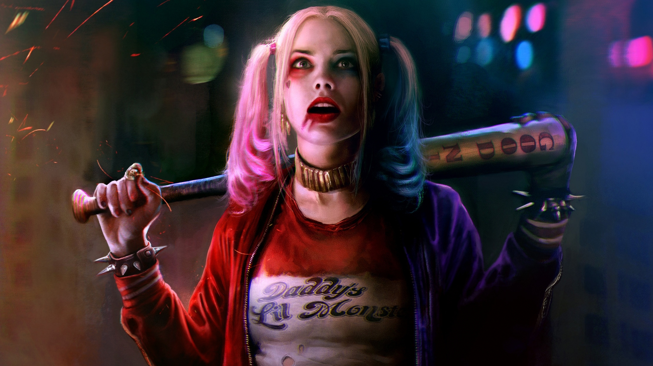 Harley Quinn Margot Robbie Suicide Squad HD Wallpaper