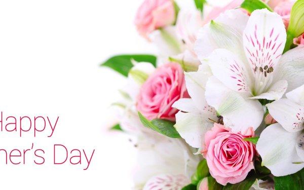 Día festivo Día de la Madre Flor Fondo de pantalla HD | Fondo de Escritorio