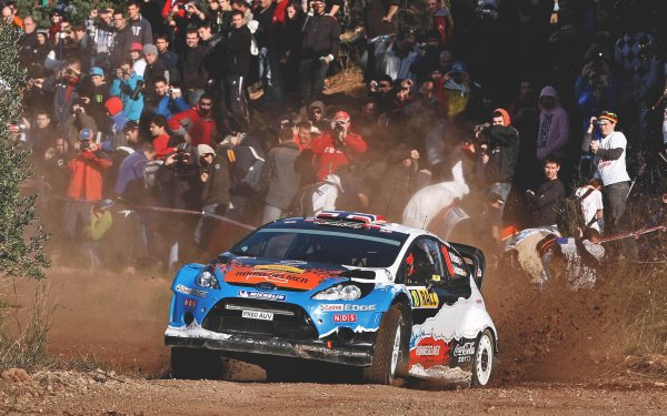 Sports Rallying Race Race Car Ford Ford Fiesta HD Wallpaper   Background Image