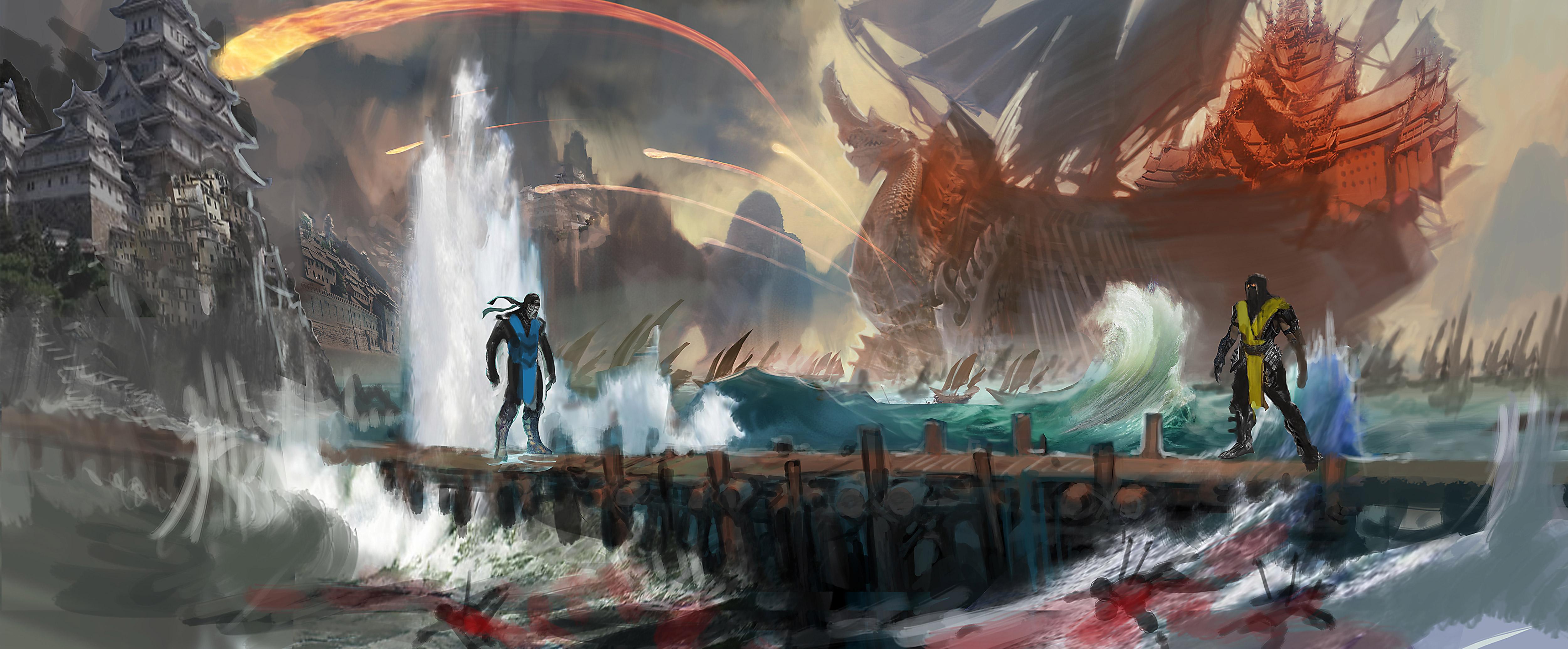 Mk11 4k Wallpaper: Mortal Kombat X HD Wallpaper
