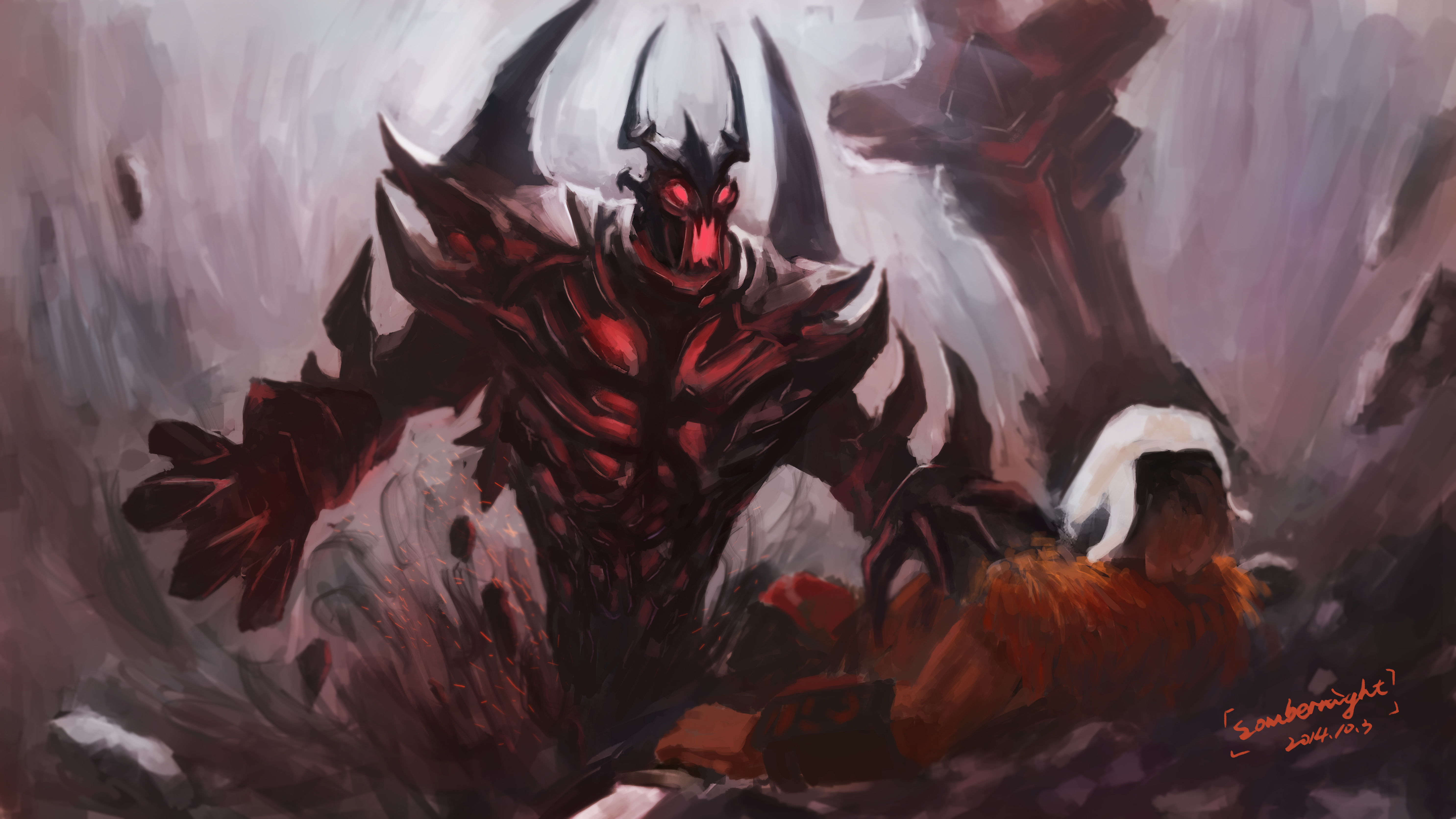 12 Shadow Fiend Dota 2 Hd Wallpapers Background Images Wallpaper Abyss