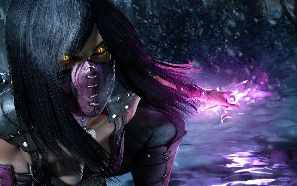 Videojuego Mortal Kombat X Mortal Kombat Mileena Black Hair Dagger Fondo de pantalla HD | Fondo de Escritorio
