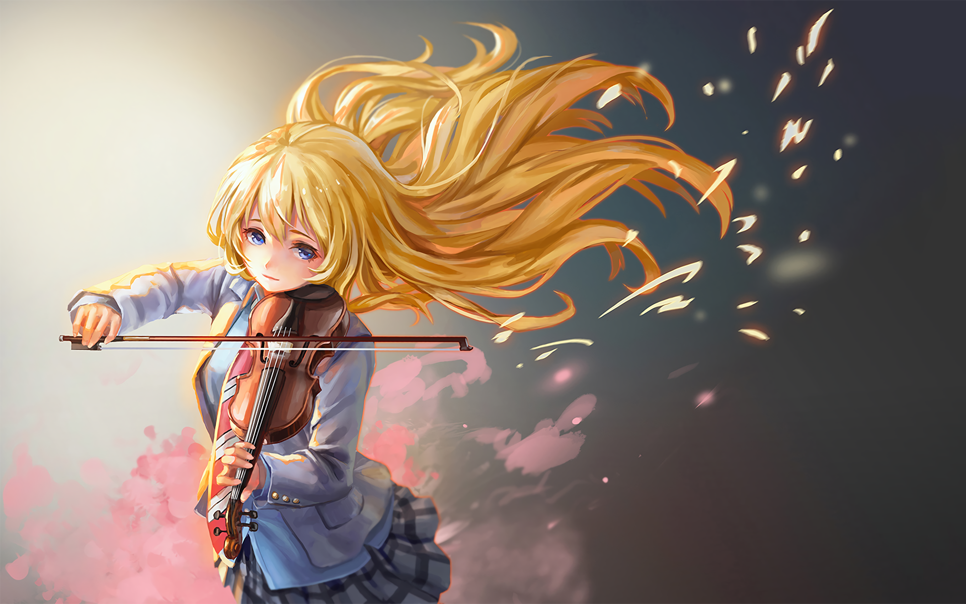 Your Lie In April Hd Wallpaper Background Image 1920x1200 Id