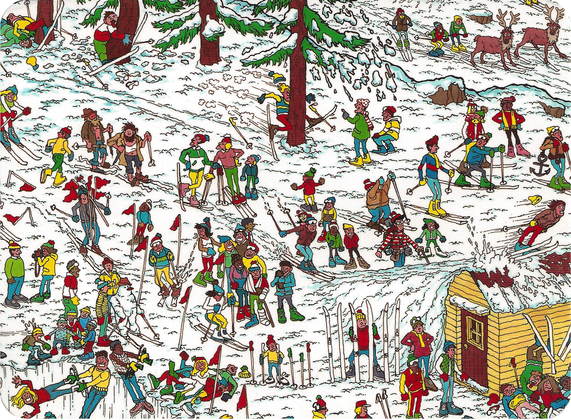photograph relating to Where's Waldo Pictures Printable titled 10 Wheres Waldo? High definition Wallpapers Historical past Illustrations or photos