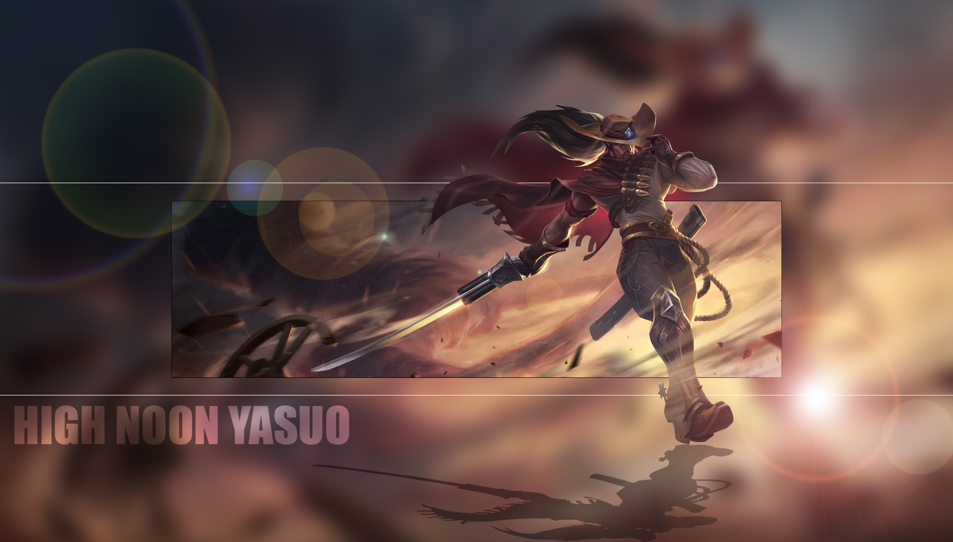 High Noon Yasuo Duvarkağıdı and Arka plan | 1900x1080 | ID ...