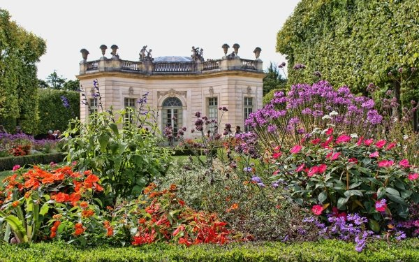 Man Made Palace Of Versailles Palaces France Garden Paris HD Wallpaper   Background Image