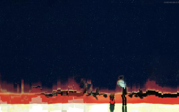 Anime End of Evangelion Evangelion Neon Genesis Evangelion Fondo de pantalla HD | Fondo de Escritorio
