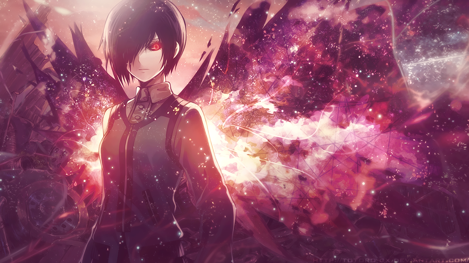 Tokyo Ghoul Hd Wallpaper Background Image 1920x1080 Id