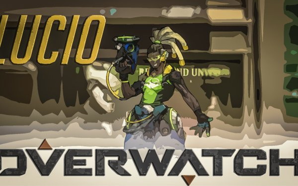 Videojuego Overwatch Lúcio Fondo de pantalla HD   Fondo de Escritorio