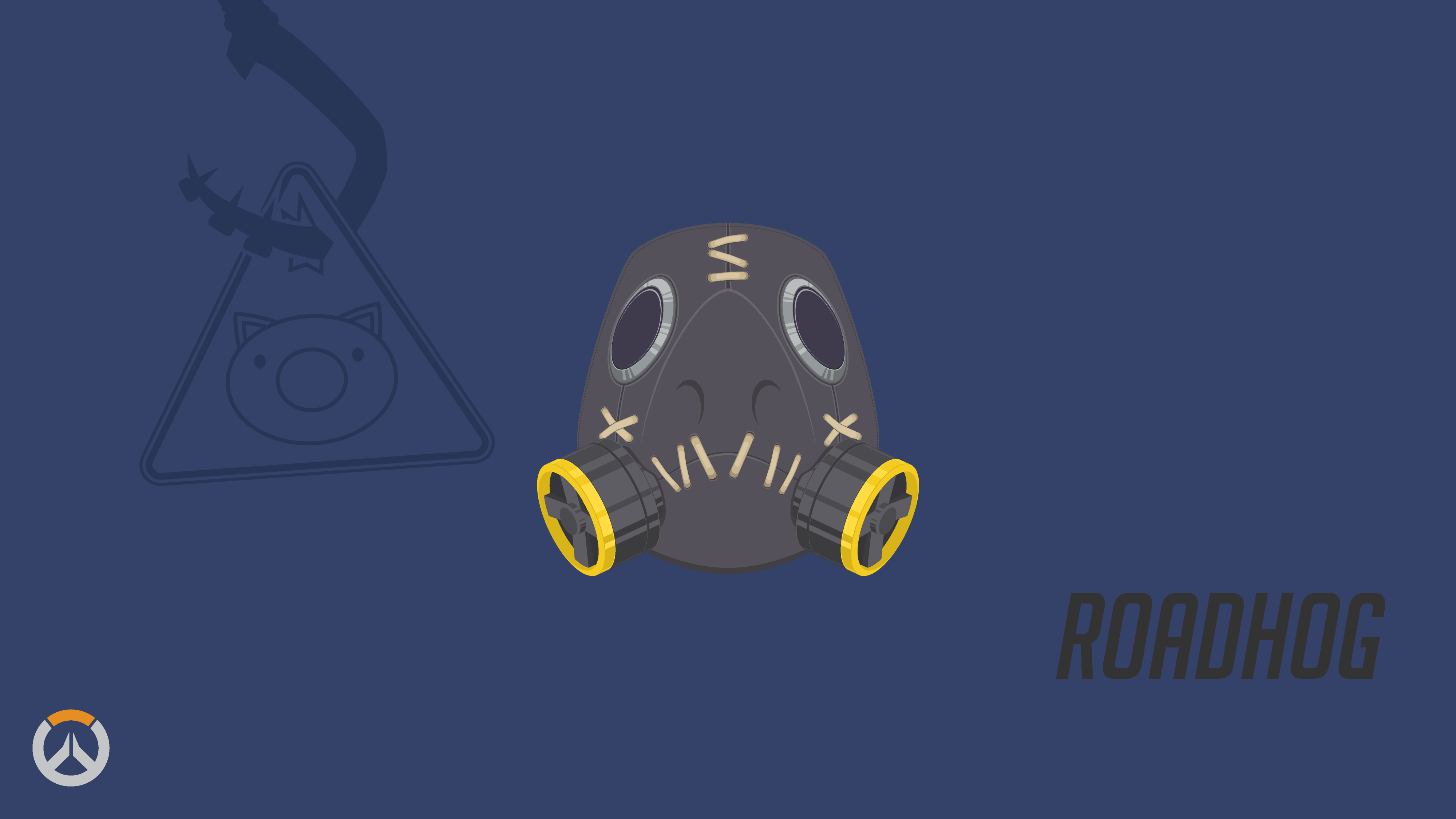58 Roadhog Overwatch Hd Wallpapers Background Images Wallpaper Abyss