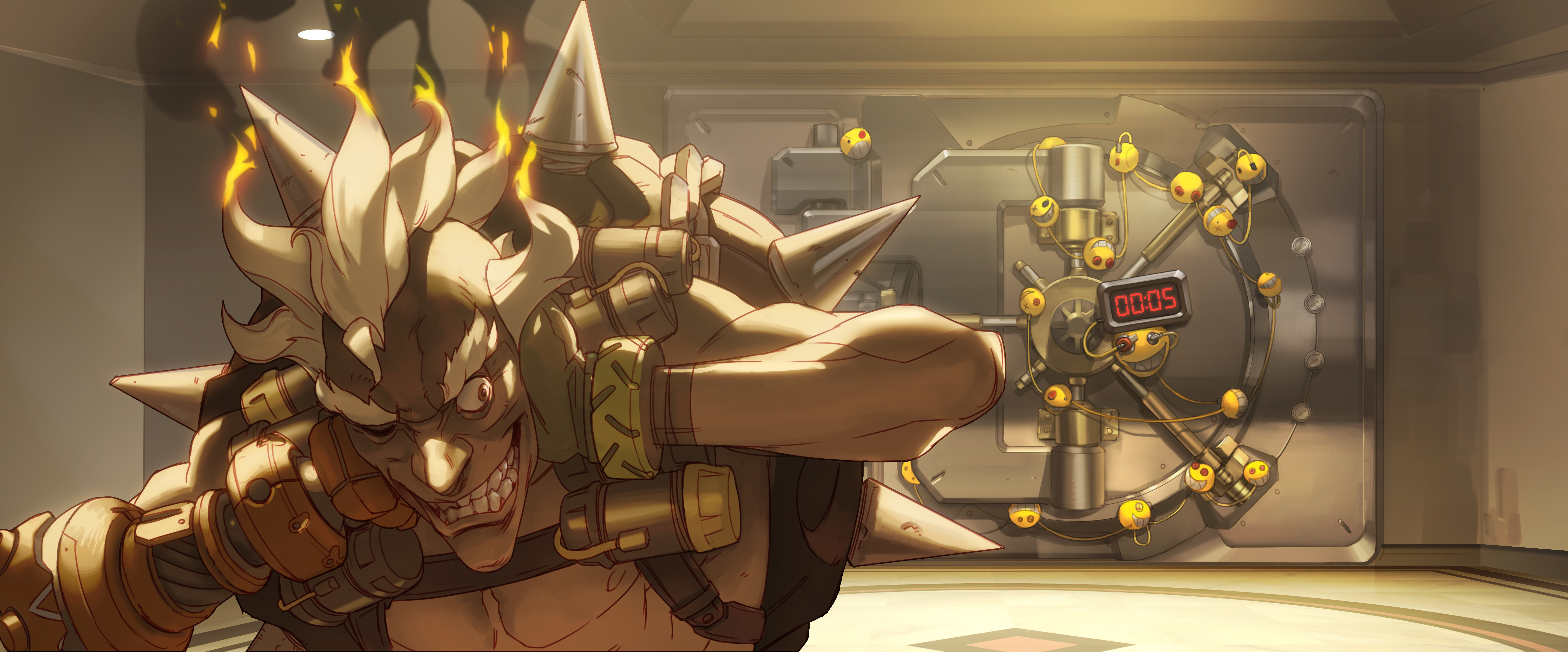 607 4k Ultra Hd Overwatch Wallpapers Background Images Wallpaper Abyss