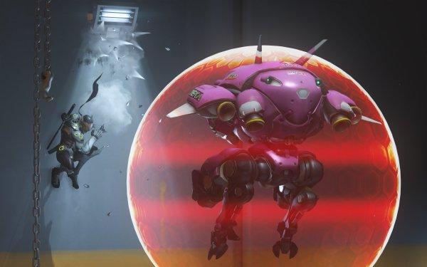 Videojuego Overwatch D.Va Genji Fondo de pantalla HD | Fondo de Escritorio