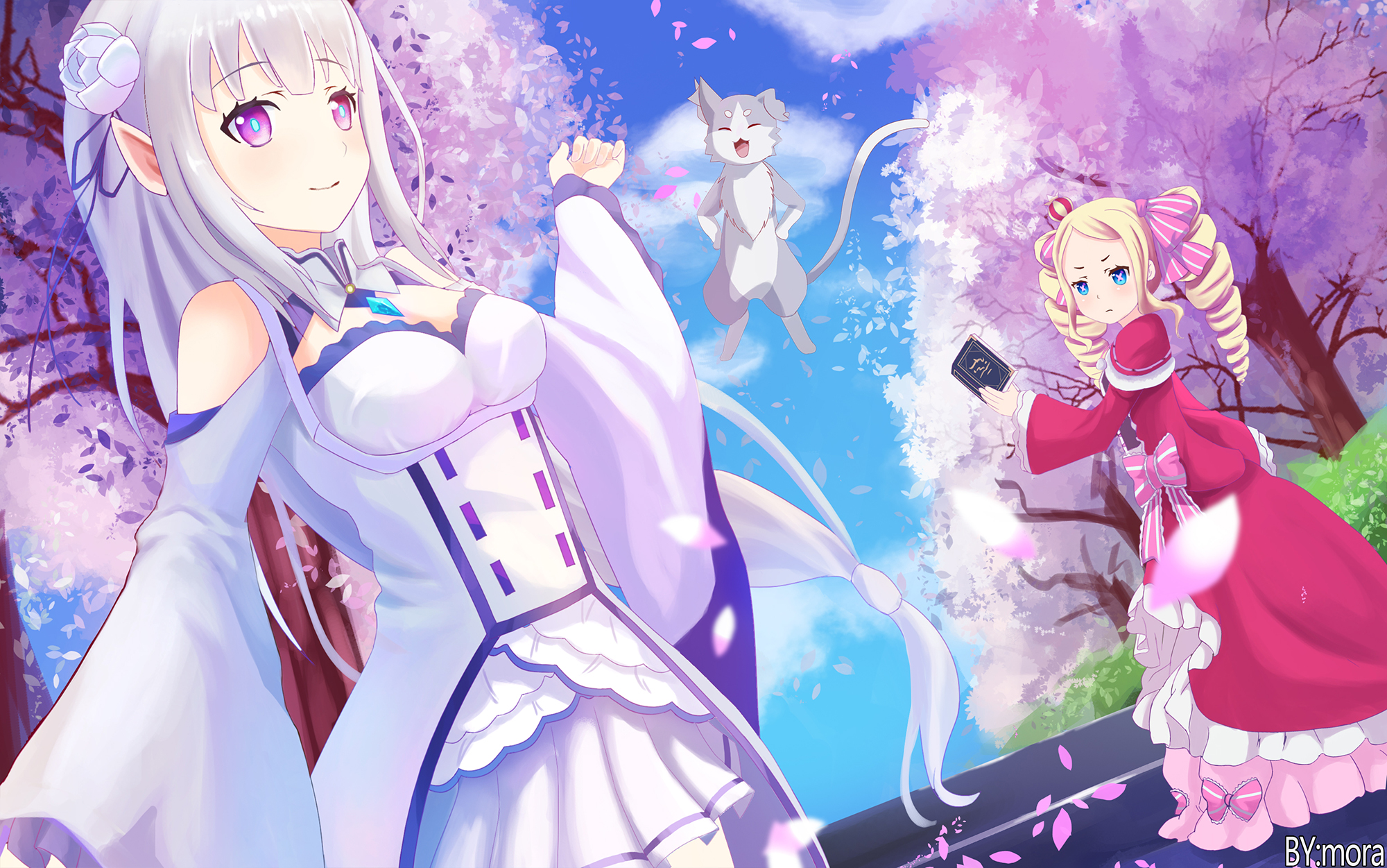 130 Beatrice Re Zero Hd Wallpapers Background Images Wallpaper