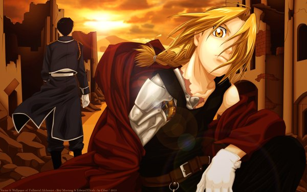 Anime FullMetal Alchemist Fullmetal Alchemist Edward Elric Roy Mustang HD Wallpaper | Background Image