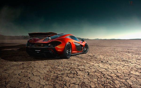 Vehicles McLaren P1 McLaren Supercar Sport Car Car Orange Car HD Wallpaper | Background Image
