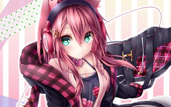 Anime Headphones HD Wallpaper | Background Image