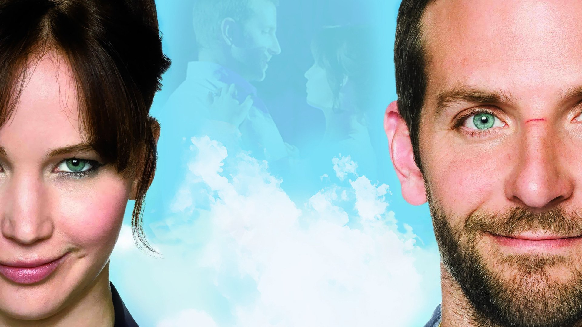 Movie - Silver Linings Playbook  Bradley Cooper Jennifer Lawrence Wallpaper