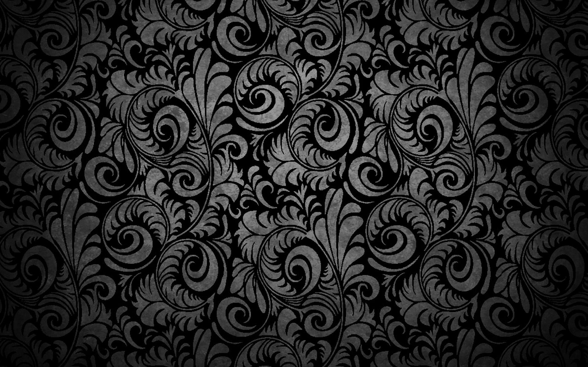Black Abstract Design Fondo De Pantalla Hd Fondo De