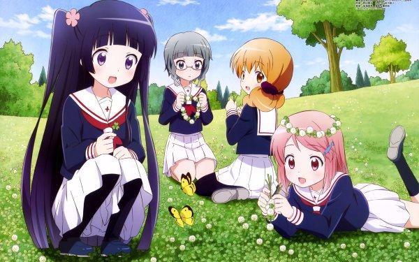 Anime Wakaba Girl Wakaba Kohashi Mao Kurokawa Nao Mashiba Moeko Tokita HD Wallpaper | Background Image