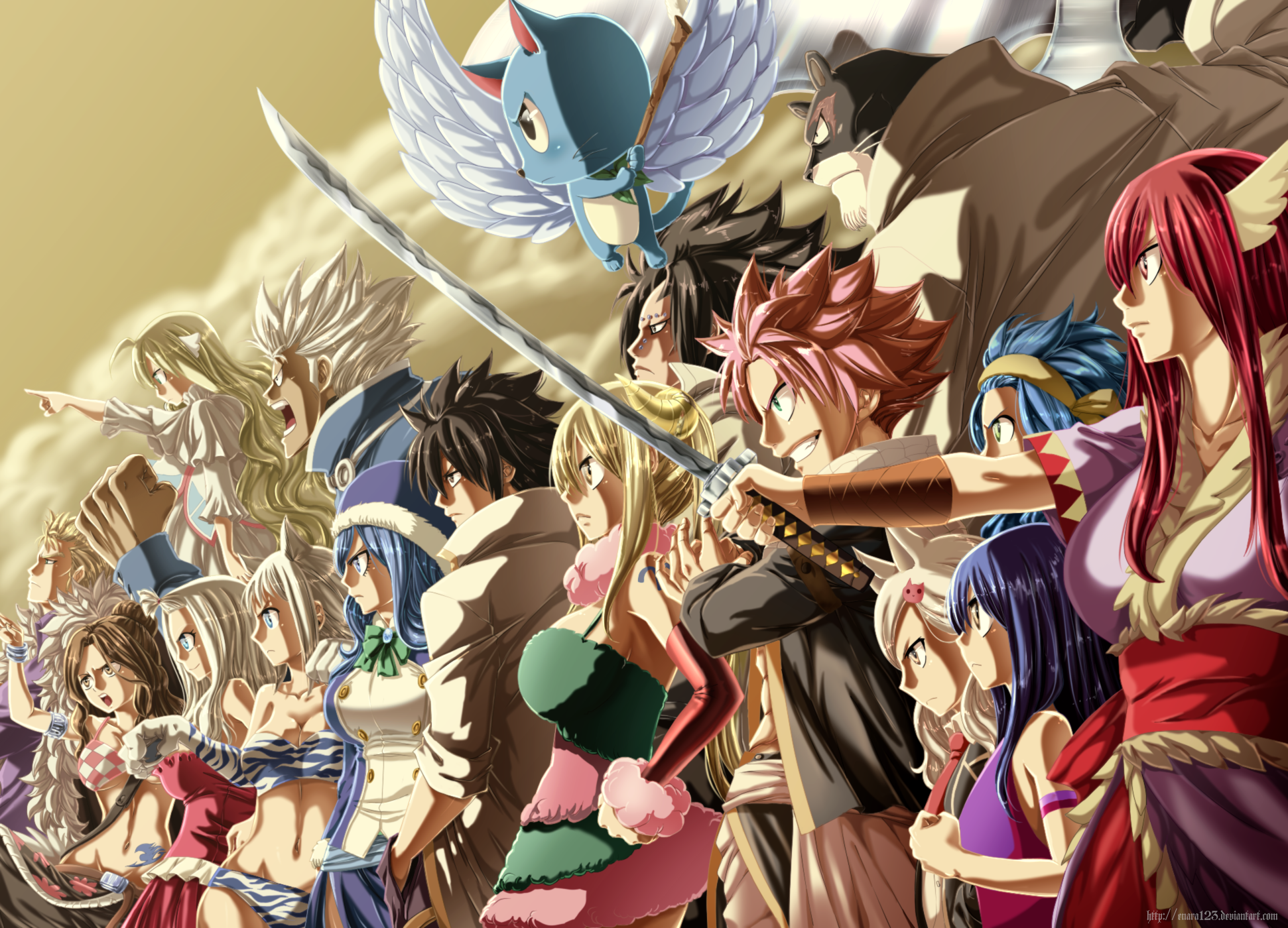 Fairy tail hd wallpaper background image 1942x1400 - Image manga fairy tail ...