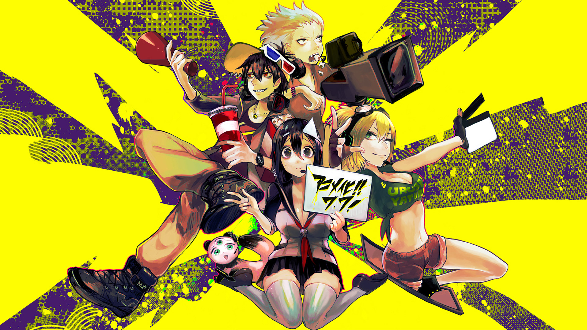 Mame Blood Lad Hd Wallpapers Background Images