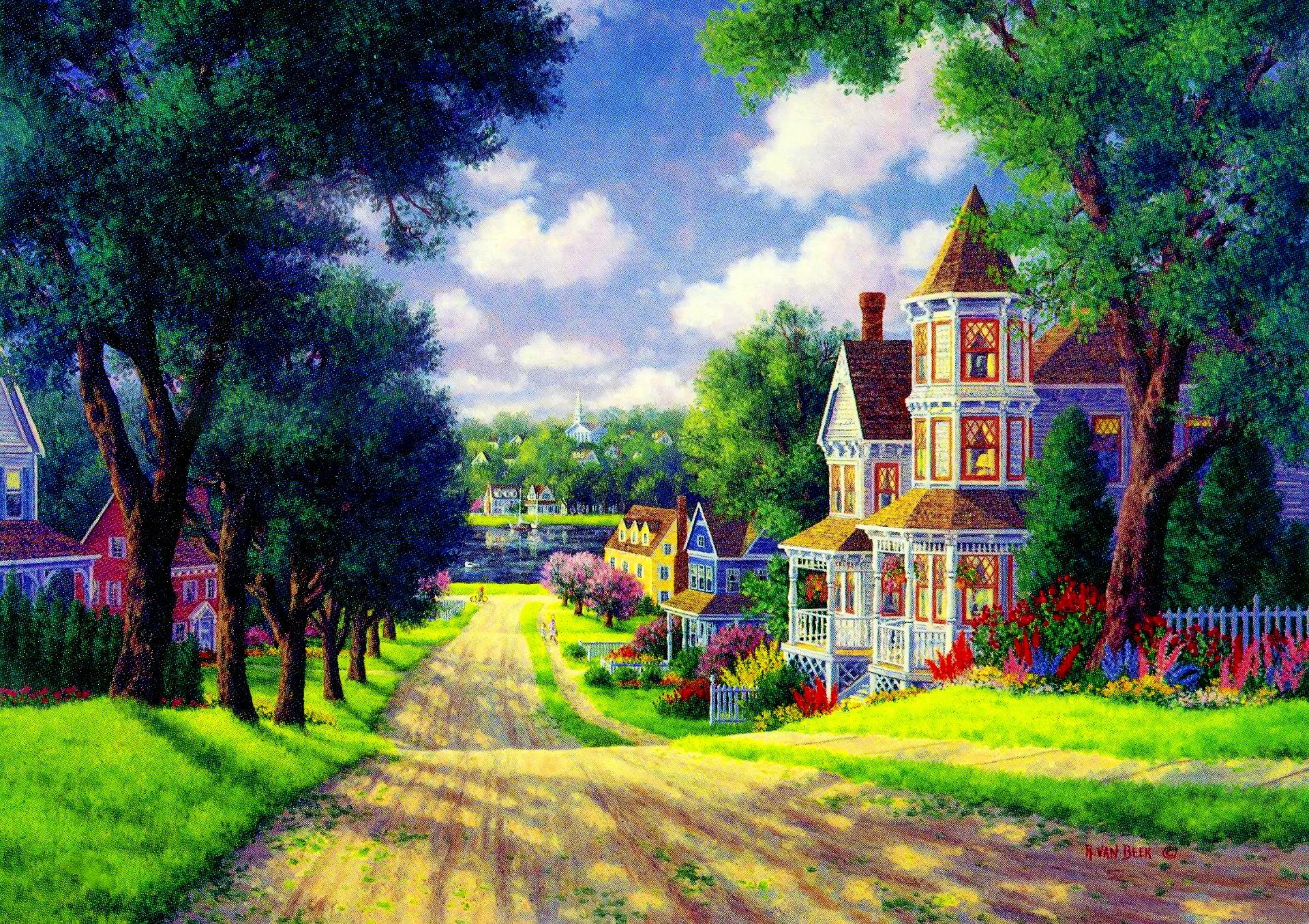 village road hd wallpaper  background image  1920x1356