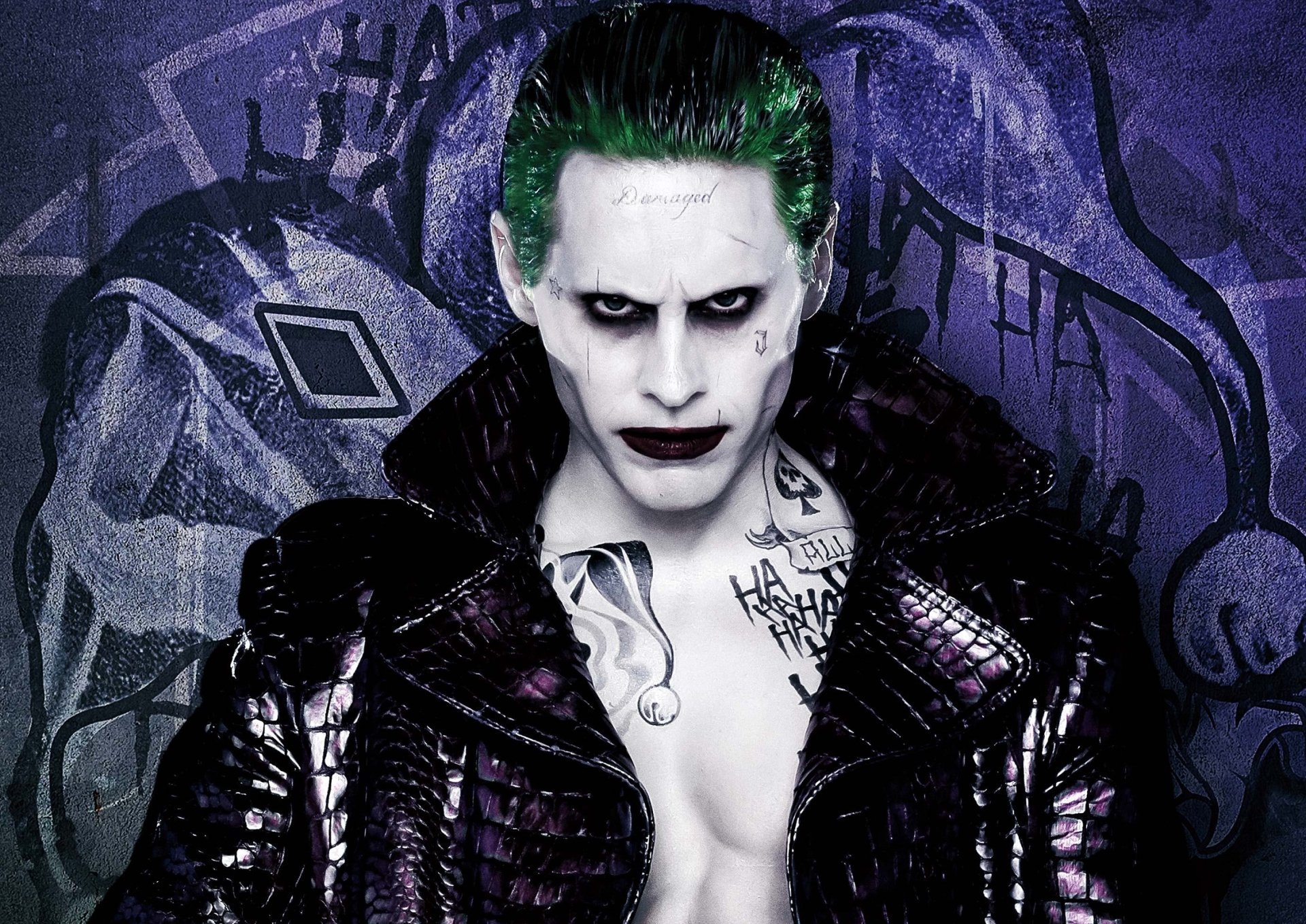Movie - Suicide Squad  Jared Leto Joker Movie Wallpaper