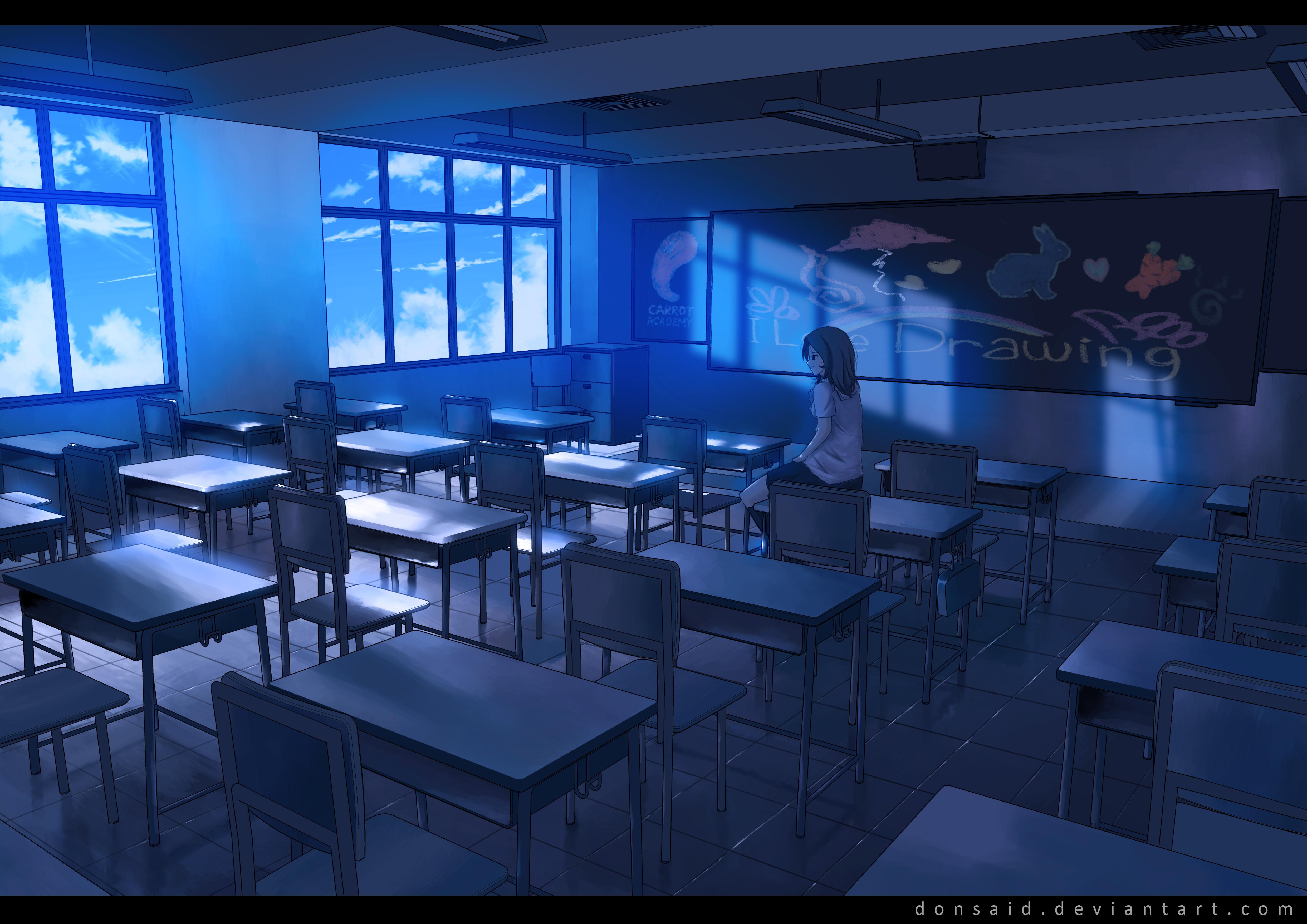 Blue Sky Classroom 4k Ultra HD Wallpaper   Background ...