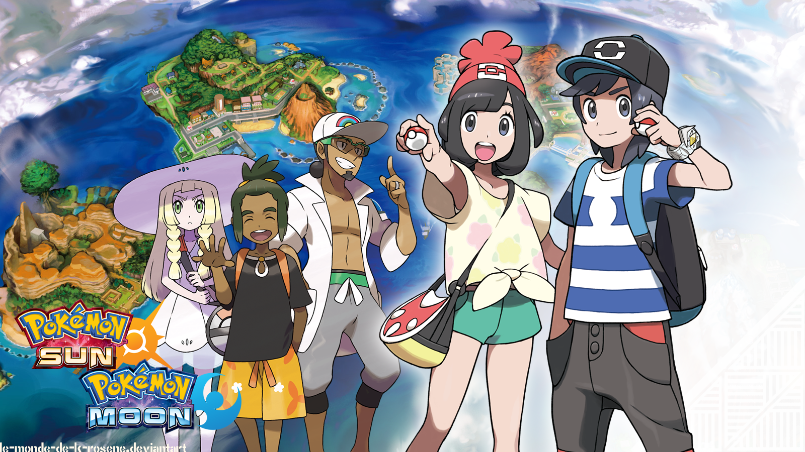 Image result for pokemon sun and moon wallpaper