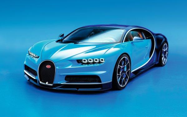 Fahrzeuge Bugatti Chiron Bugatti Supercar Sport Car Blue Car Autos HD Wallpaper | Hintergrund